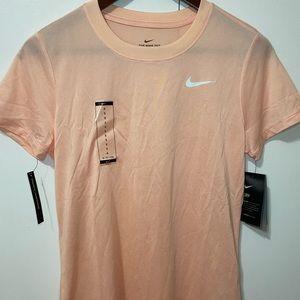 Pink nike dri-fit shirt